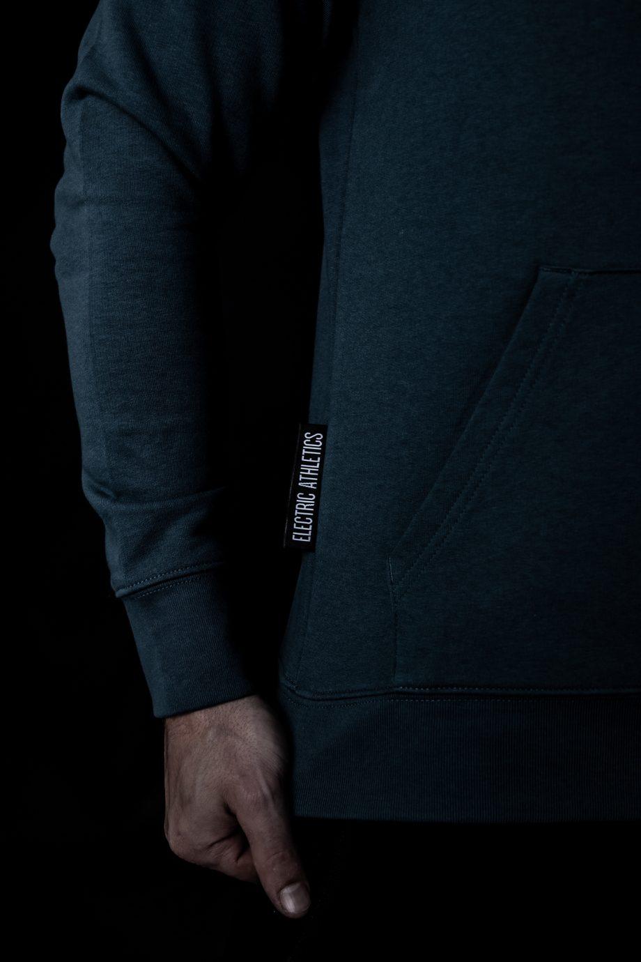volt hoodie side detail