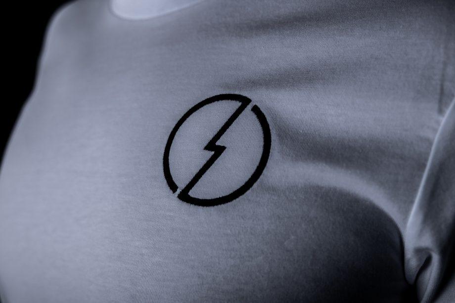volt shirt white logo