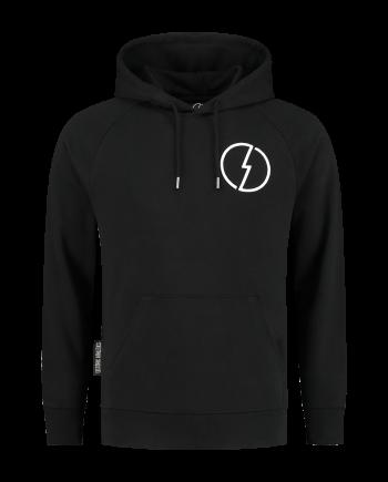 black hoodie the volt deep black