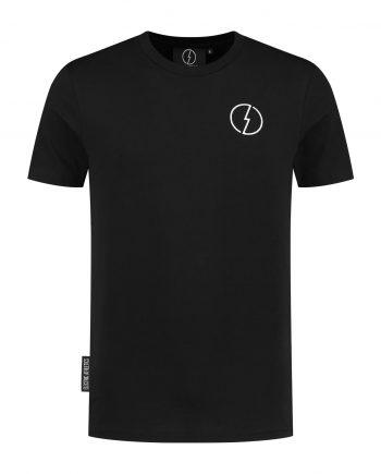 Comfort fit T-shirt the Volt Deep black